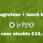 NS Dagretour + lunch La Place voor €20